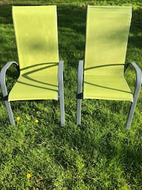 $40 for both outdoor patio chairs Toronto, M9W 2A3