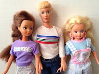 Barbies - Skipper Kevin and Courtney San Leandro, 94578