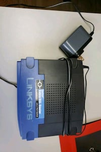 LINKSYS Cable/DSL Router with 8-Port Switch $5 only.  Mississauga, L5A 2K6