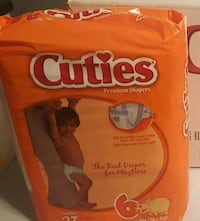 Cuties premium Diapers size 6 Germantown, 20874