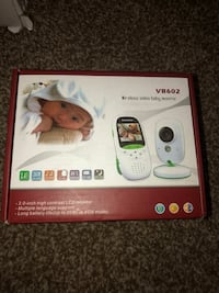 LNBEI VB602 Baby Monitor 2.0 Inch LCD Wireless Video Baby Monitor with Wireless Digital Camera, Infrared Night Vision, Two Way Audio, Temperature Monitoring, Built-in Lullabies Huber Heights, 45424