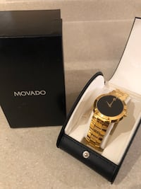 Men's Gold Movado Watch - Museum Collection Winnipeg, R3Y 0E4