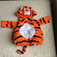 Carter's Baby Toddler size 12 months Tiger Dress up Costume cute Haverhill, 01832