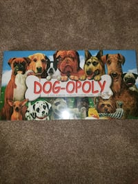 Dog-opoly Board Game....BRAND NEW