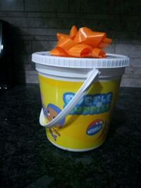 Bubble guppies bucket with lid Brampton, L7A 0A8