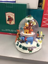 "Disney Winnie the Pooh Snowglobe ""We Wish You A Merry Christmas"" Mississauga, L5J 1J7"