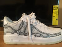 white and grey Nike Air low-top sneakers Gainesville, 30501