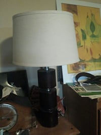 black and white table lamp North Saanich, V8L 3Z5