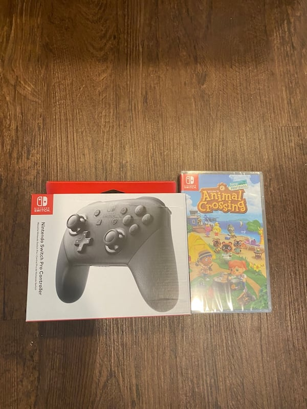 Used Nintendo Switch Animal Crossing Bundle For Sale In Farmers