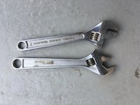 Set of 2 adjustable wrenches  Valley Cottage, 10989