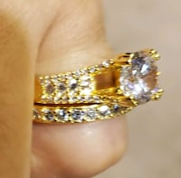 gold plated ring Surrey, V3X 1P3