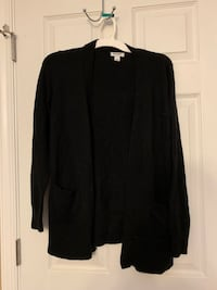 Size small cardigans (3) black, gray and tan