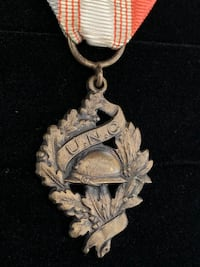 French UNC WW1 Veteran's Medal (Shipping Available) Toronto, M4V 2C1