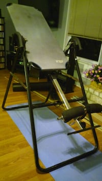 Black and Gray inversion table Houston, 77089