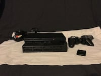 black Sony PS3 super slim console with controllers Thunder Bay