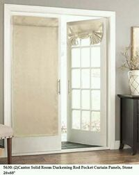 Curtain Panel French Door Curtain, Door Curtains - Delivery  Toronto, M1B