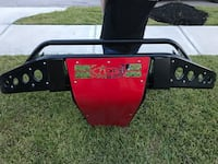 ADD STEALTH SKID PLATE BUMPER FRESH POWDER COATED WITH 40IN LED Spring, 77386