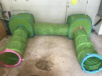 IKEA BUSA Play TUNNEL KIDS TOY POP UP TENT + TUNNEL GREEN BABY  Altamonte Springs, 32714
