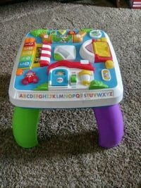 baby's multicolored activity table Owosso, 48867