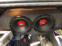 2 12 in subs with amp
