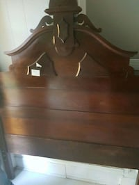 Wooden headboard with frame and foot board  London, N5Y 3J4
