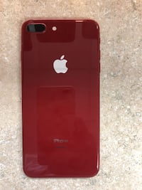 RED Iphone 8plus 256GB  MONTREAL