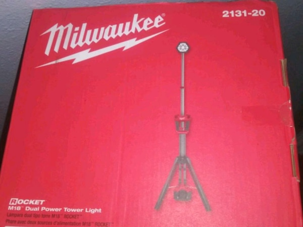 Milwaukee adjustable light