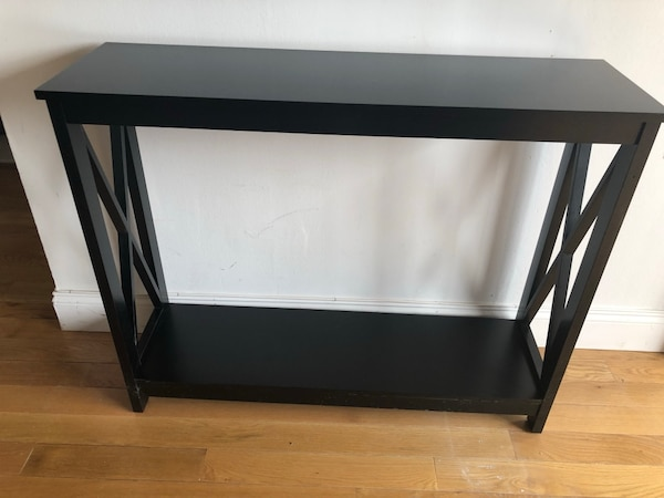 Amazing Black Console Table Wide And Narrow Hallway Tables Home Interior And Landscaping Ymoonbapapsignezvosmurscom