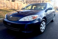 Royal blue 2002 TOYOTA Camry 4cyl Great on Gas ! Takoma Park
