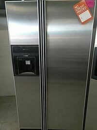 stainless steel side-by-side refrigerator with dispenser Mount Clemens, 48043