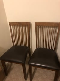 Set of (4) Dining Room Chairs LEESBURG