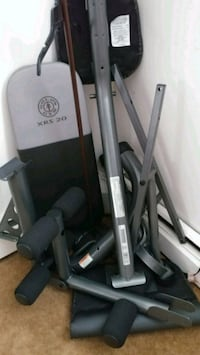 Home gym equipment all separated brand new