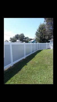 Vinyl fences! All styles and heights.