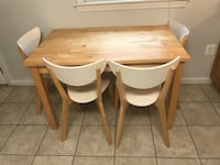 Kitchen table and 4 chairs Falls Church, 22046