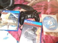 ps 4 games and controller  Indianapolis, 46241