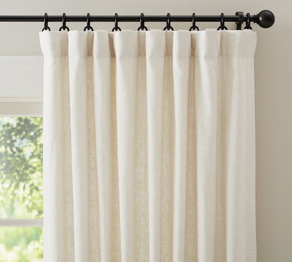 Used White And Gray Window Curtain For Sale In Colts Neck