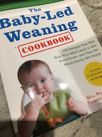Baby Led Weaning cookbook Burlington, L7L 2Z7