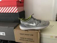 unpaired white Nike Air Max shoe with box Port Jefferson Station, 11776