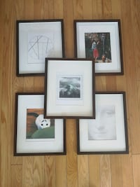 5 pic frames 8x10 from POTTERY BARN 221 mi