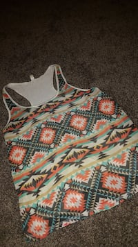 black, red, and white tank top El Paso, 79925