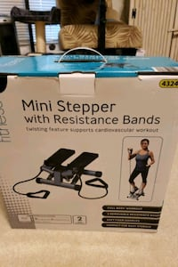 stepper with bands Charlotte, 28278