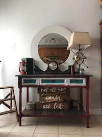 Shabby accent table