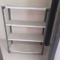 white and black steel rack Mira Bhayandar, 401107