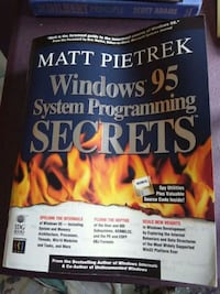 Windows 95 System Programming Secrets book by Matt Pietrek Toronto, M1H 2T6