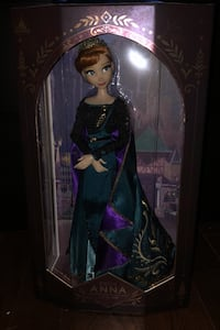 Limited edition Frozen 2 Anna doll