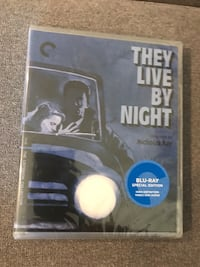 They Live By Night Blu-Ray : Criterion Collection Toronto, M3H 1R1