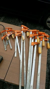 Jorgensen wood working clamps  12 total Silver Spring, 20904