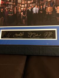 The Office framed photograph with signatures Fairfax, 22033