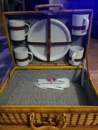 Picnic basket & accessories
