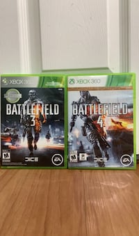 Xbox 360 game *bundle* Battlefield 3 and 4